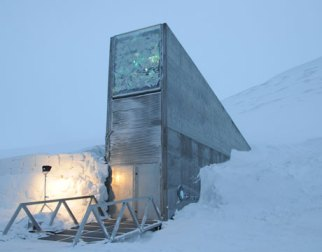 Global Seed Vault in Svalbard, Norway