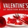 150 Boston Restaurants For Valentine S Day Boston