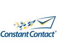 Constant Contact logo with Flying Envelope