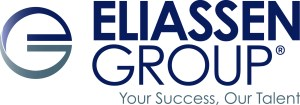 "Eliassen Group Logo - ""Your Success, Our Talent"""