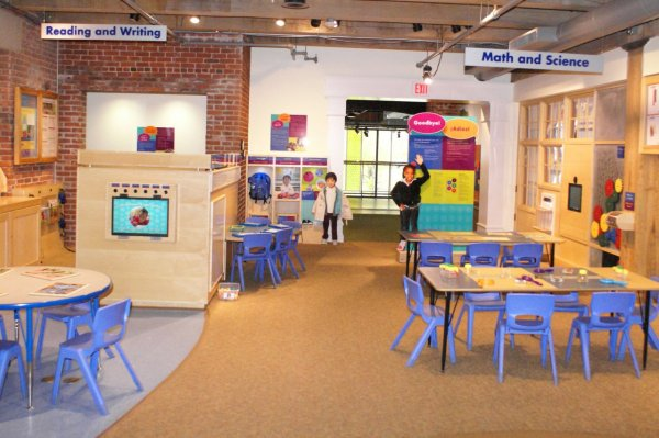 Floor Plan Boston Children' Museum