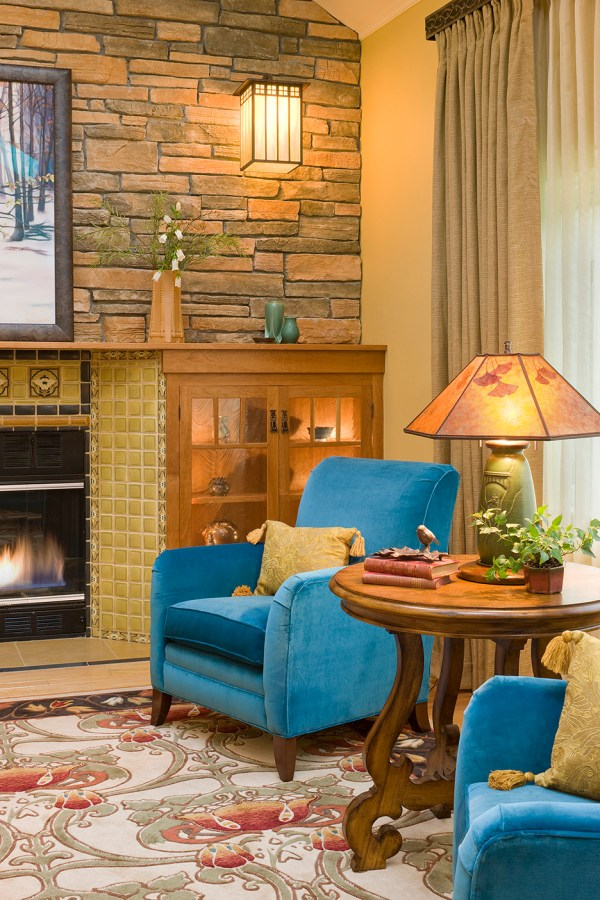 Arts And Crafts Home - Boston Design Interiors