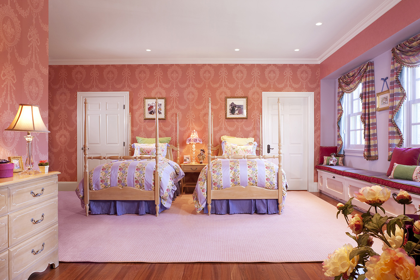 Childrens Wing of a Grand Mansion Gallery  Boston Design