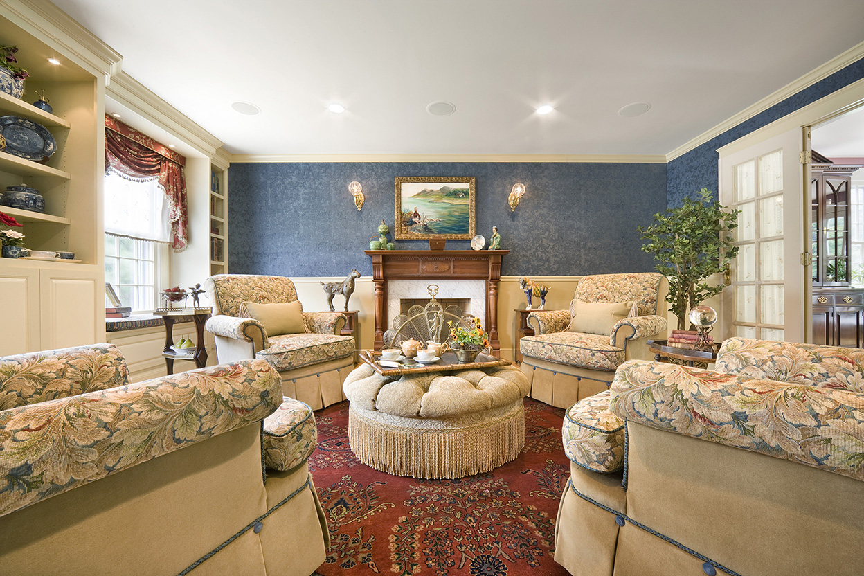 traditional english living room design window treatment for large gallery boston and