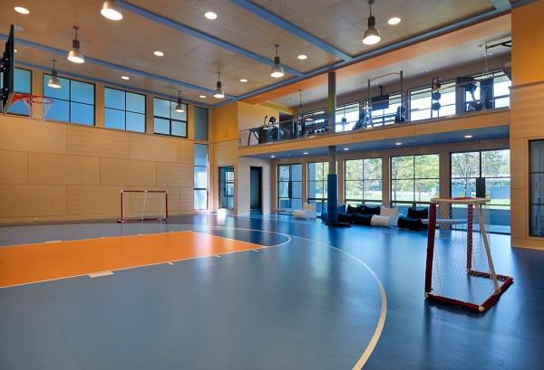 Indoor Home Basketball Court Designs