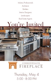 You're Invited: Commonwealth Fireplace Outdoor Living ...