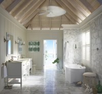 Summer Inspired Bathroom Styles