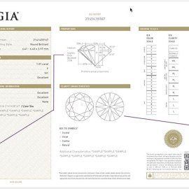 How to Read a GIA Grading Report