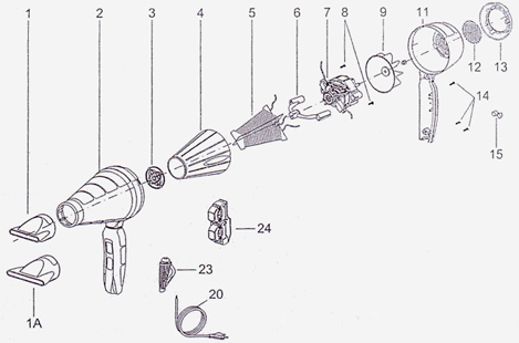 Hair Dryer Parts Free Download • Oasis-dl.co