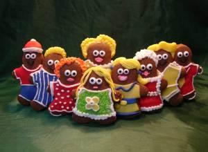 Gingerbread Men Sandwich
