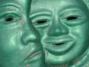 Happy Sad Faces of Janus