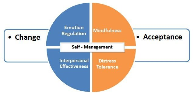 Diagram of Dialectical Behavior Therapy