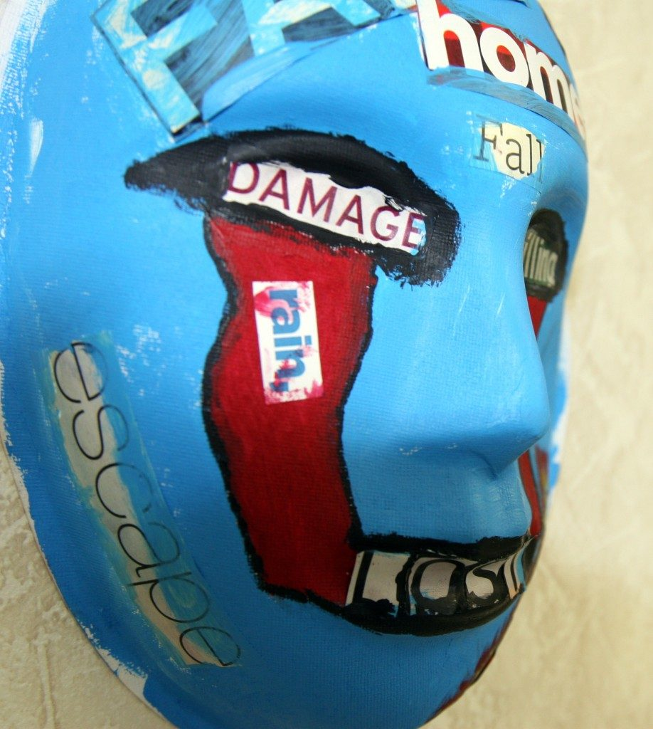 Art Sculpture by Recovering PTSD USMC Survivor
