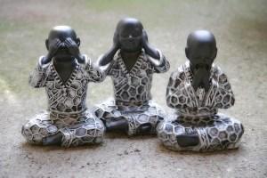 See No Evil Buddhas