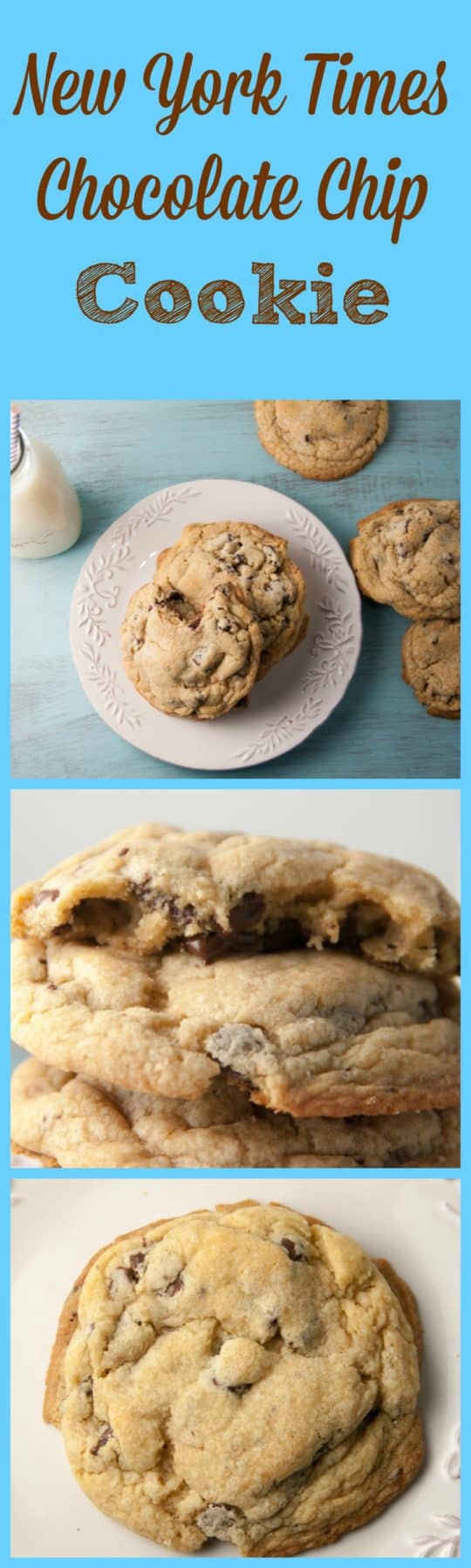 New York Times Chocolate Chip Cookie - Boston Girl Bakes