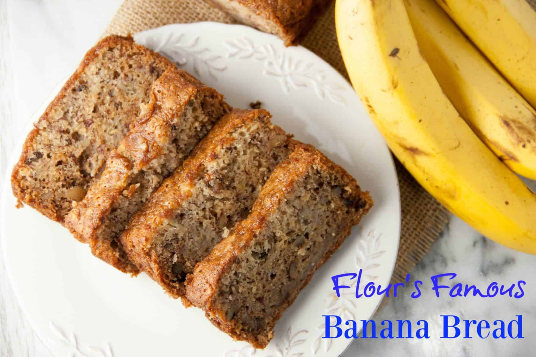 Flours famous banana bread boston girl bakes when it comes to banana bread there is only one recipe i have come across that beats all flour bakerys famous banana bread i had made a version of this forumfinder Choice Image