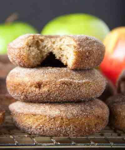 Baked Apple Cider Donuts