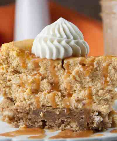 blondie bottom pumpkin cheesecake