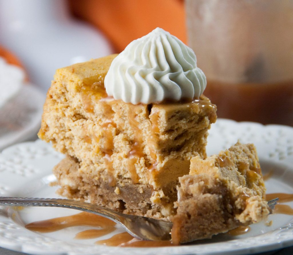 blondie bottom cheesecake