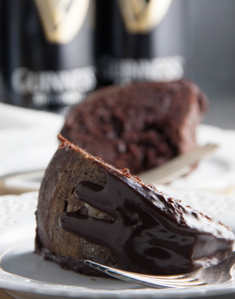 One Bowl Guinness Chocolate Cake - Boston Girl Bakes