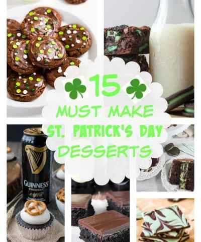 15 Must Make St. Patrick's Day Desserts