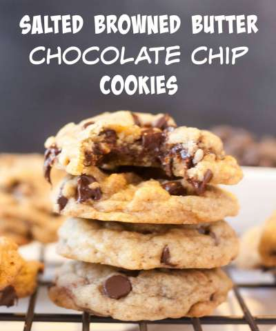 Chocolate Chip Brown Butter Sea Salt Cookies