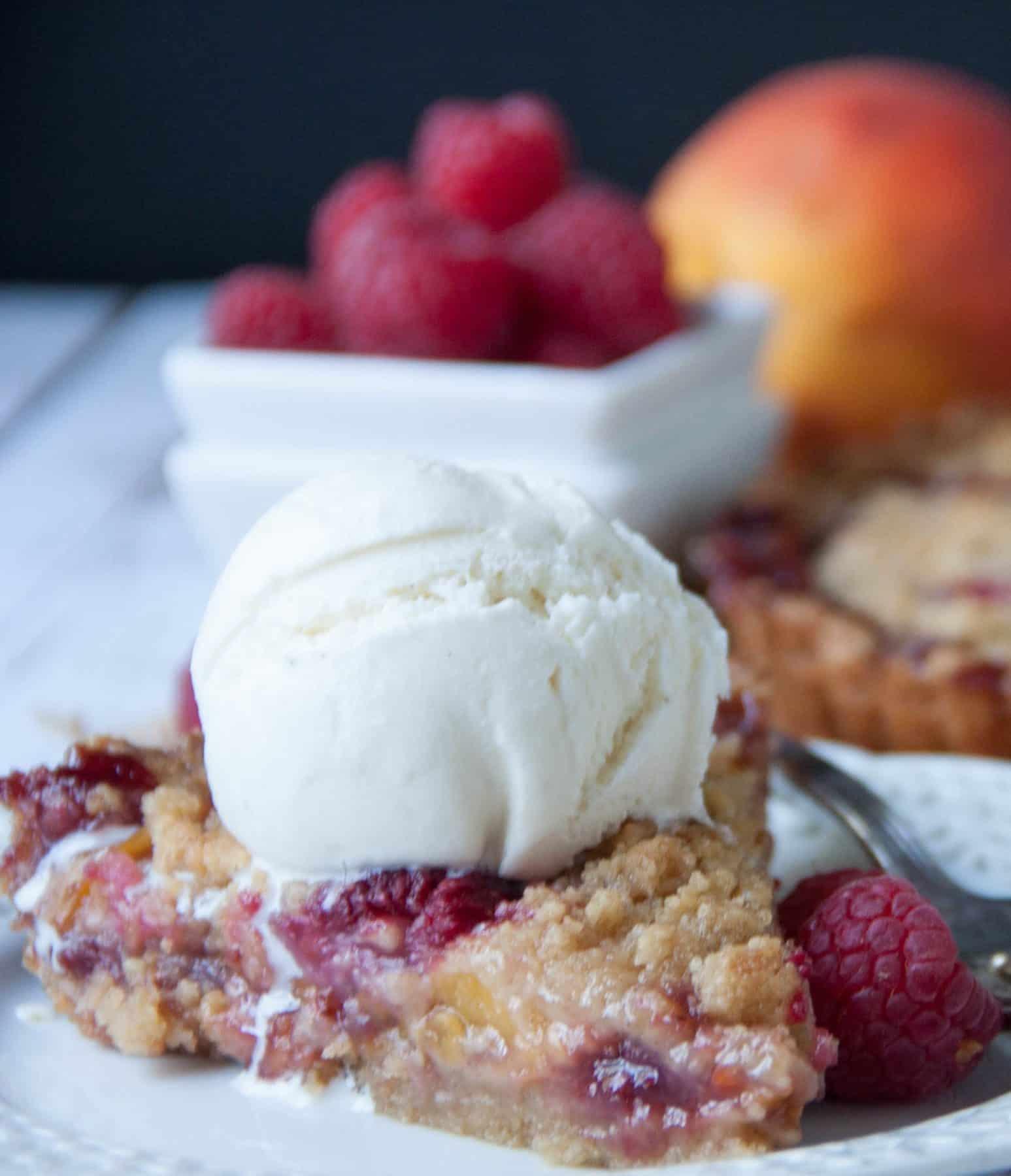 how to make peach tart filling