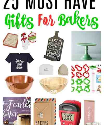 25 Must Have Christmas Gifts For Bakers