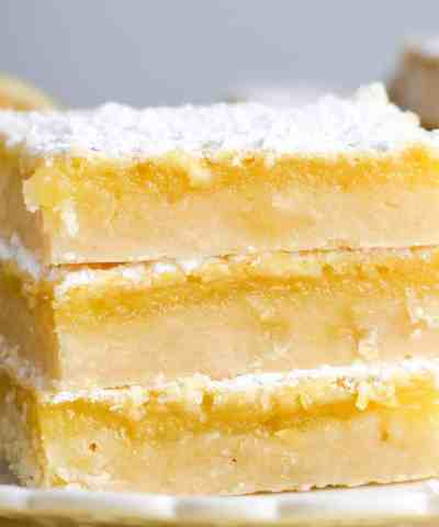 One Bowl Easy Lemon Squares (+Video!)