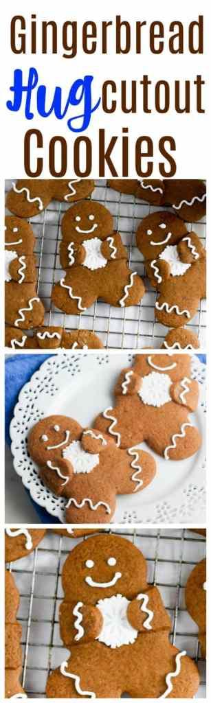 gingerbread cutout cookies | gingerbread hug cutout cookies | gingerbread | gingerbread men | gingerbread cookies | christmas gingerbread | christmas gingerbread cookies |