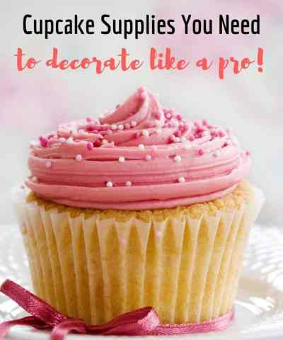 The 6 Cupcake Decorating Supplies You Need (to start decorating like a pro)