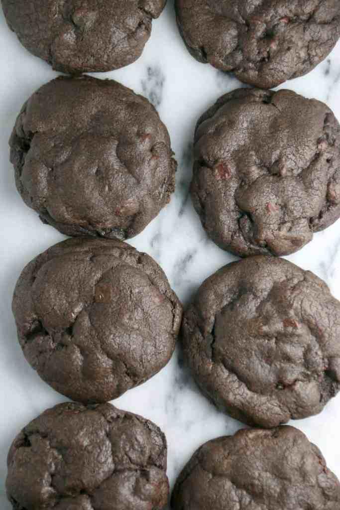 Dark Chocolate Chip Cookie Recipe