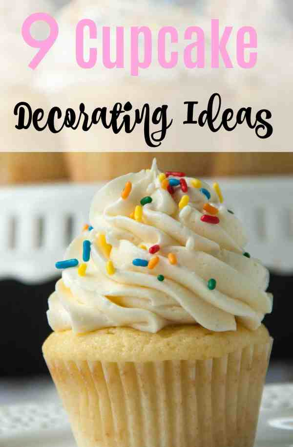 9 Easy Cupcake Decorating Ideas Boston Girl Bakes