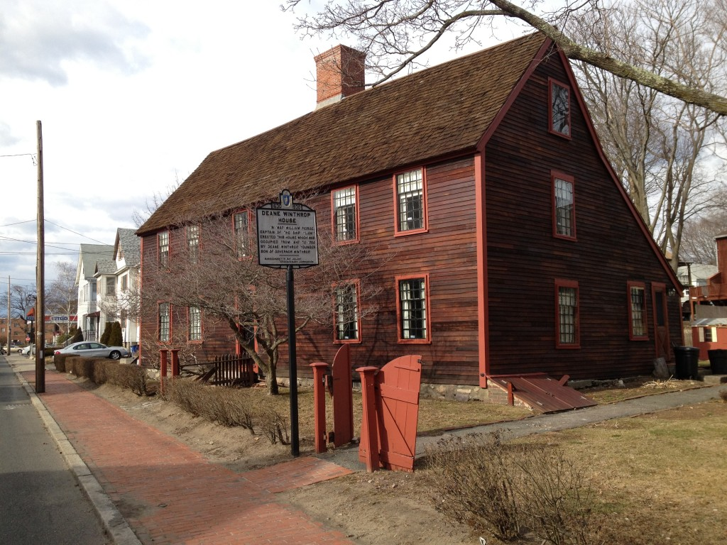 Boston Harbor Historical Place Of The Week Deane Winthrop