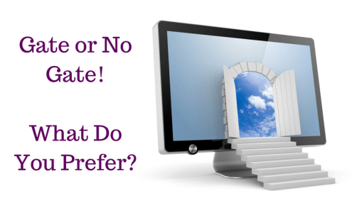 Gate or No Gate!What Do You Prefer-