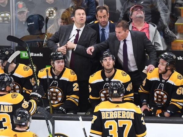 Bruins coach Bruce Cassidy enjoying his home life during NHL shutdown.