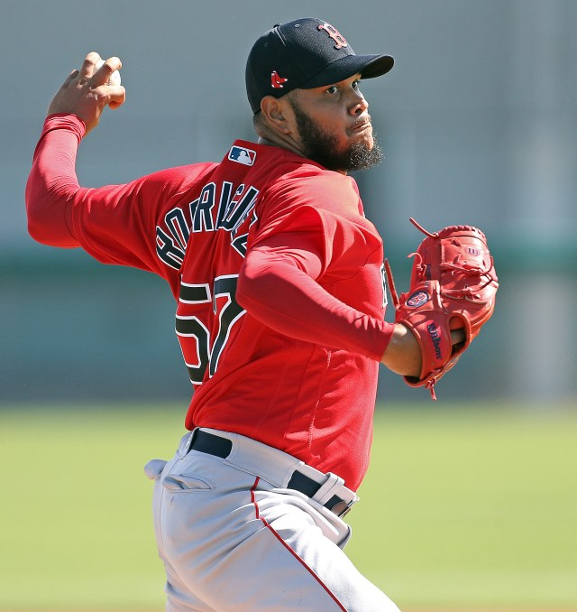 Red Sox LHP Eduardo Rodriguez strikes out 10 as dominant spring ...