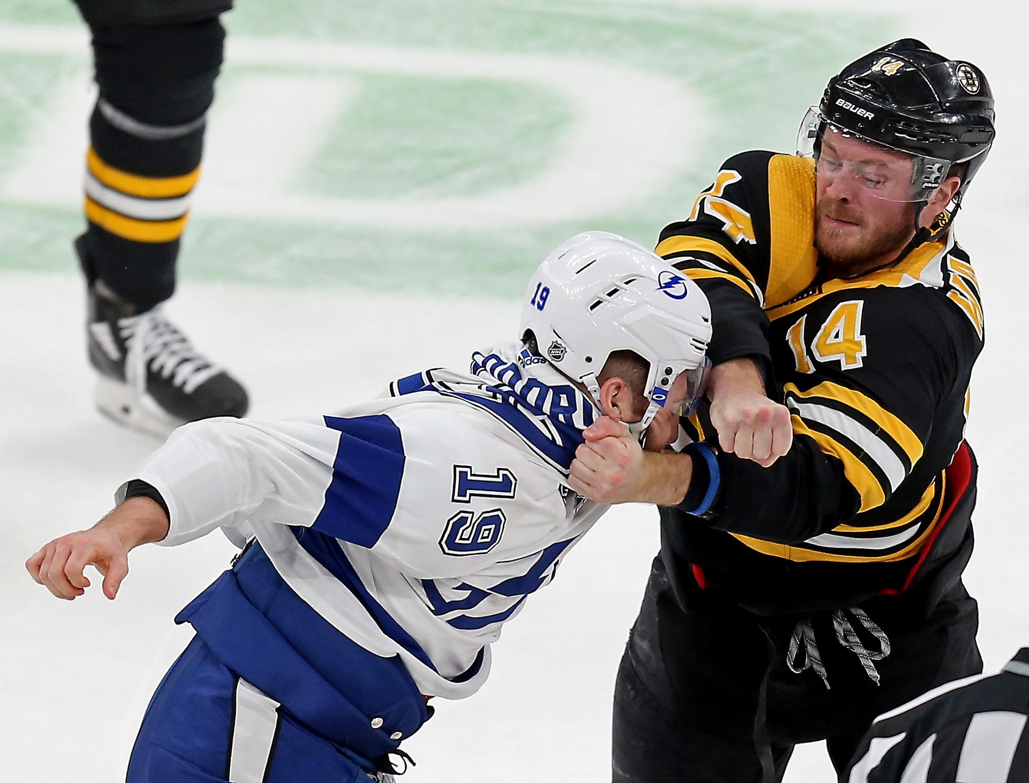 https www bostonherald com 2020 03 07 bruins fall to lightning in fight filled affair