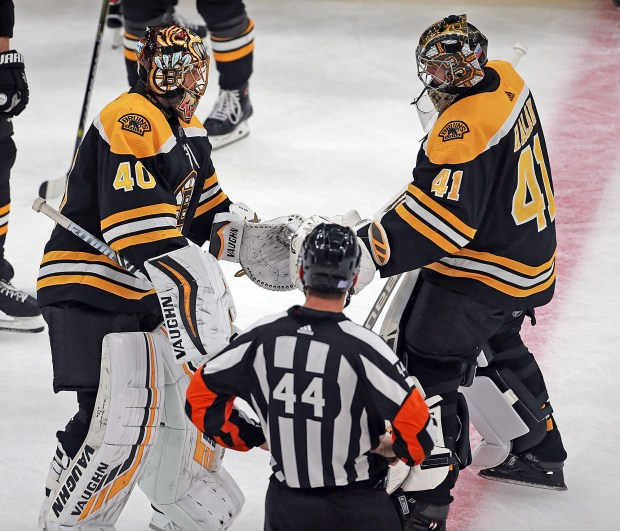 Jaroslav Halak embraces role backing up path to the Cup – Boston ...