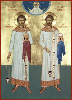 (c) Holy Transfiguration Monastery, Martyrs Stephen and Laurence