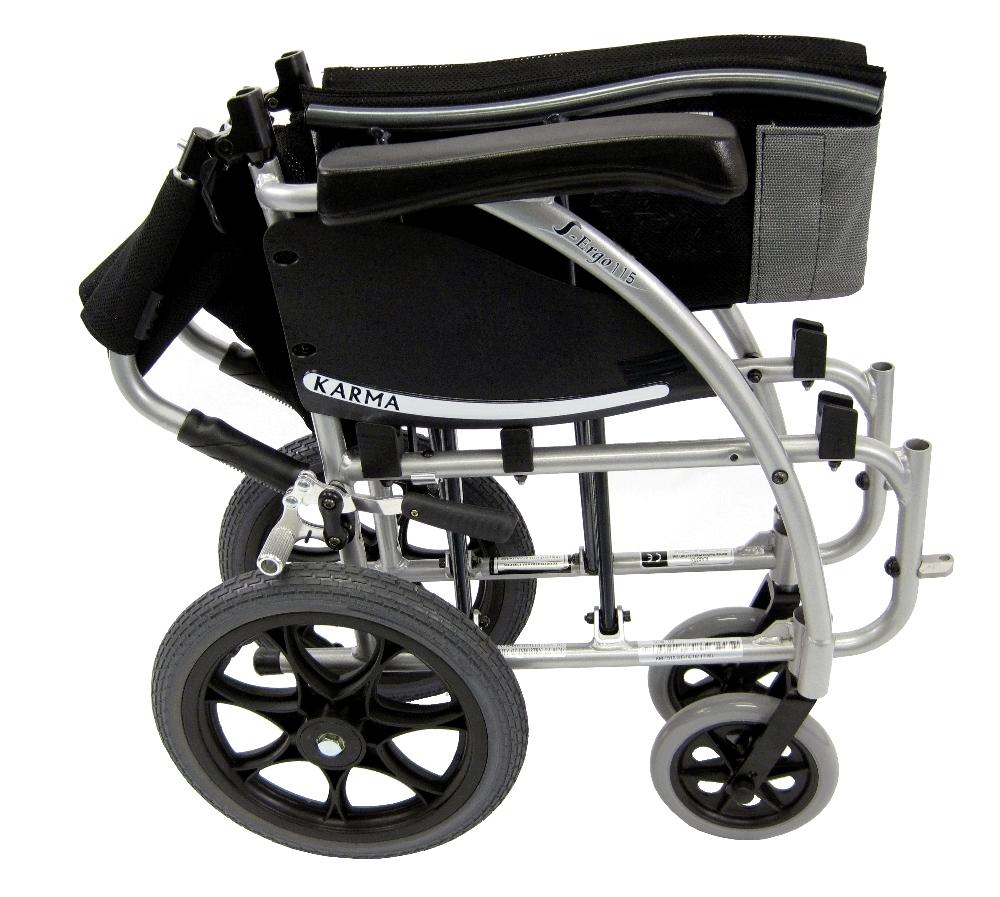 S115TP  Lightweight Ergonomic Transport Wheelchair  Light Companion Wheelchair