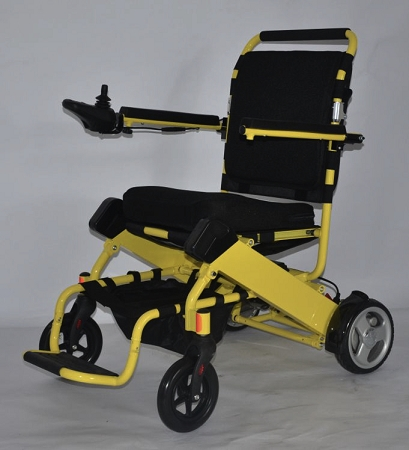 yellow wheelchair floor chairs for adults lightweight folding electric