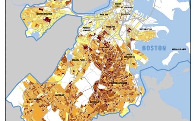 Census And Demographic Maps Boston Planning Development Agency