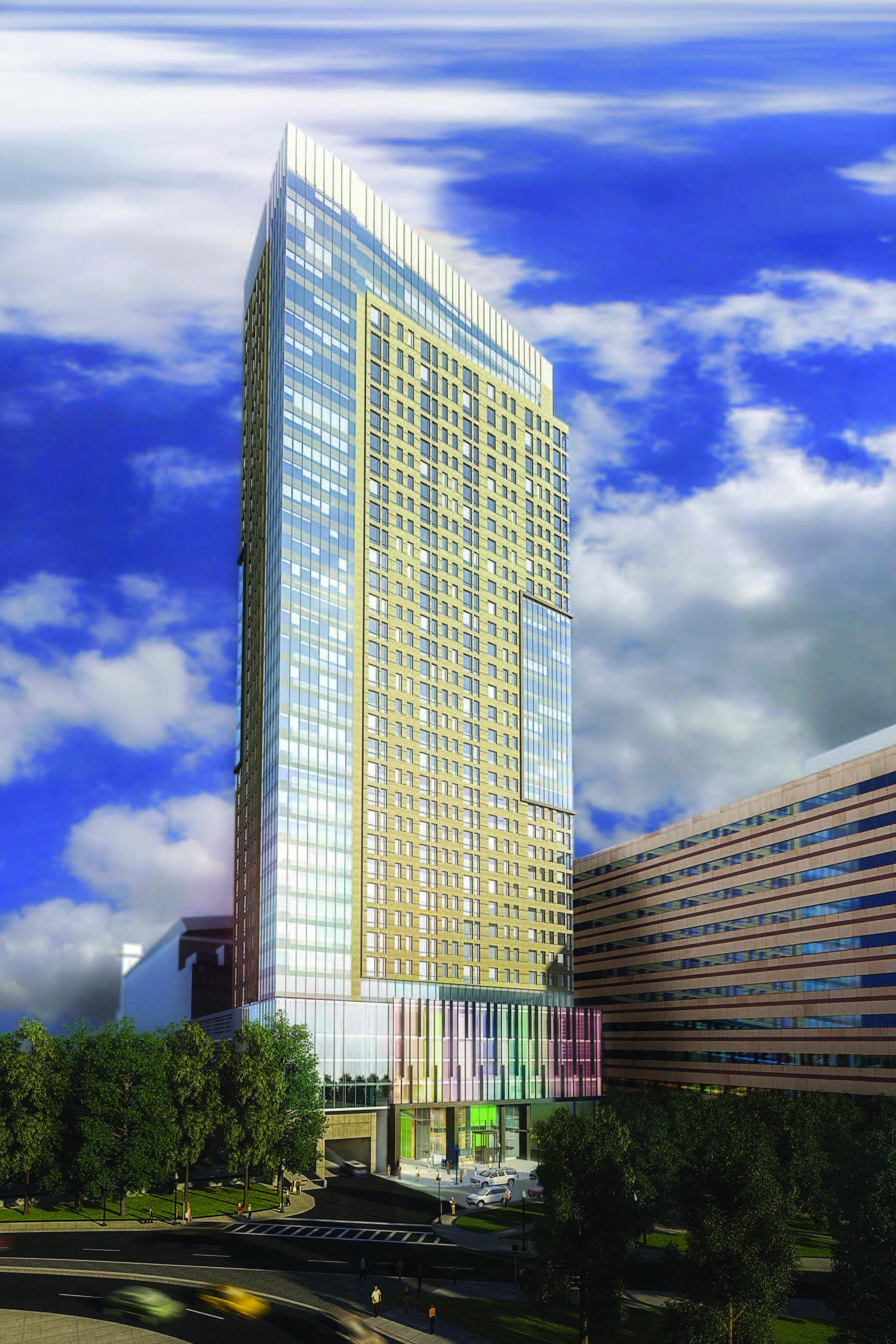 Avalon North Station Tops Off  Boston Planning