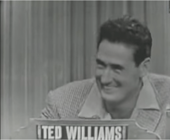 Ted Williams on What's My Line