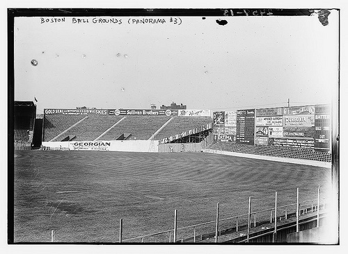 fenway park 1912 red sox photo