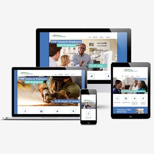 Partnerships for a Skilled Workforce Responsive Web Design