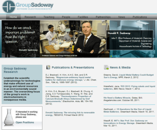 Group Sadoway - Home Page
