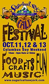 Sugar Loaf, NY Fall Festival 2014