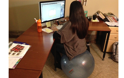 exercise ball office chair size white reclining styling new school sitting balls blog bosu